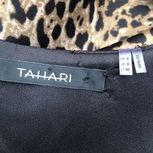 Tahari Dresses - TAHARI leopard print sleeveless dress size 4